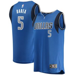 J.J. Barea Dallas Mavericks Fanatics Branded Fast Break Replica Team Color Player Jersey Royal – Icon Edition