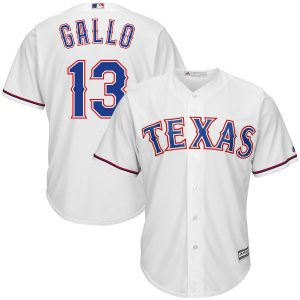 Joey Gallo Texas Rangers Majestic Official Cool Base Player Jersey