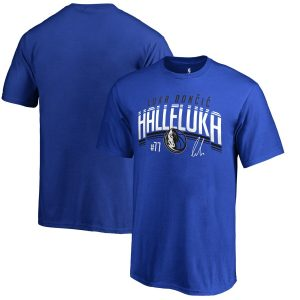 Luka Doncic Dallas Mavericks Fanatics Branded Youth Halleluka T-Shirt