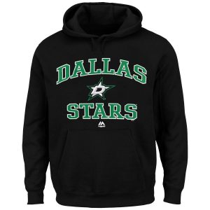 Majestic Dallas Stars Black Heart & Soul Hoodie