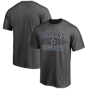 Men's Dallas Cowboys NFL Pro Line by Fanatics Branded Gray Victory Arch T-Shirt