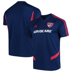 Men's FC Dallas adidas Navy 2019 Training Jersey