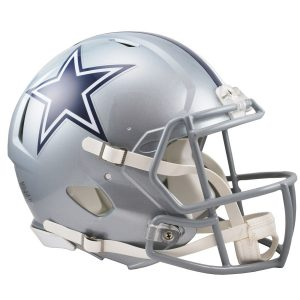 Riddell Dallas Cowboys Revolution Speed Full-Size Authentic Football Helmet