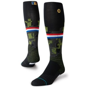 Stance Youth 2019 MLB Armed Forces Day Diamond Pro OTC Socks – Black