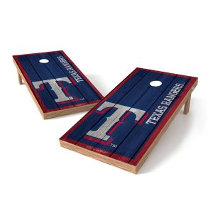 Texas Rangers 2′ x 4′ Big Vintage Authentic Tailgate Toss Set