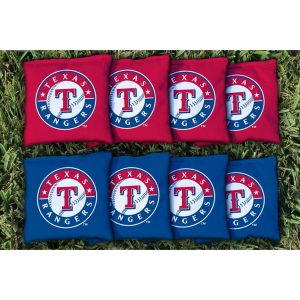 Texas Rangers Cornhole Bag Set