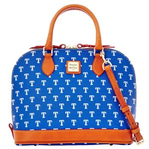 Texas Rangers Dooney & Bourke Women's Signature Zip Zip Satchel