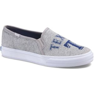 Texas Rangers Keds Women's Double Decker Slip-On Sneakers