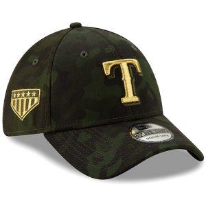 Texas Rangers New Era 2019 MLB Armed Forces Day 39THIRTY Flex Hat