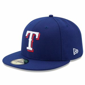 Texas Rangers New Era Game Authentic Collection On-Field 59FIFTY Fitted Hat