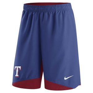 Texas Rangers Nike Authentic Collection Dry Woven Performance Shorts – Royal