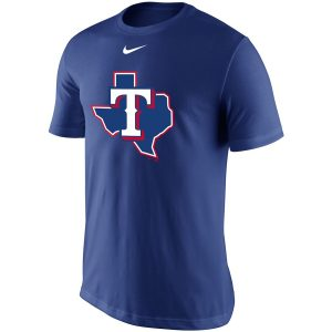 Texas Rangers Nike Legend Batting Practice Primary Logo Performance T-Shirt – Royal