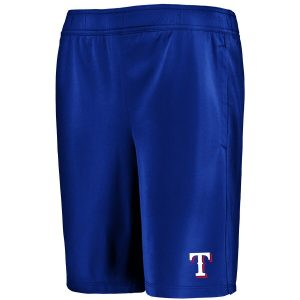 Texas Rangers Under Armour Youth MK-1 Shorts – Royal