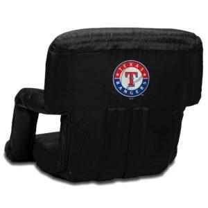 Texas Rangers Ventura Portable Seat – Black