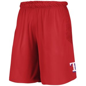 Texas Rangers Youth Caught Looking Shorts – Red