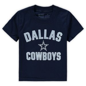 Toddler Dallas Cowboys Navy Team Victory Arch T-Shirt