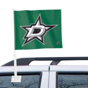 WinCraft Dallas Stars 11″ x 13″ Two-Sided Car Flag