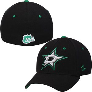 Zephyr Dallas Stars Black Breakaway Flex Hat