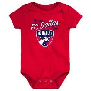 FC Dallas Newborn & Infant My New First Bodysuit – Red