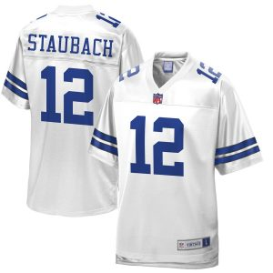 Roger Staubach Dallas Cowboys NFL Pro Line Retired Player Jersey – White