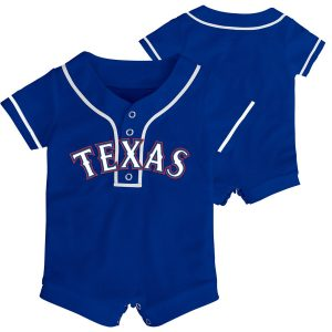 Texas Rangers Newborn & Infant Replica Romper – Royal
